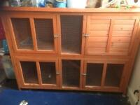 Large Rabbit Guinea Pig Hutch