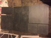 Slate tiles no longer needed
