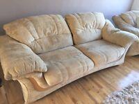 Sofa, tan colour, FREE!