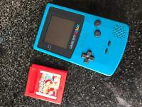 Gameboy Color, Pokemon Red and Light
