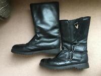 Frank Thomas motorbike boots size 12