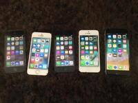 Apple iphones5, 5S, 6
