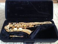 Yamaha YTS280 Tenor Saxophone As New with mouthpiece/case/accessories