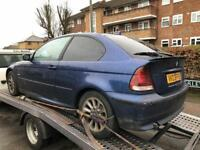 BMW 316 ti compact Spares Or Repair Or for parts