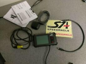 SPEED-ANGLE GPS LAPTIMER. as new in box