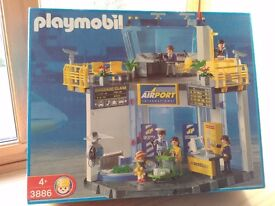 Playmobil Airport, complete. Includes terminal people and accessories