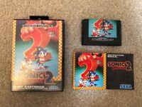 Sega Mega Drive Game Sonic The Hedgehog 2