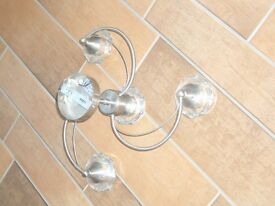 4 Bulb Ceiling Light Halogen Bulbs