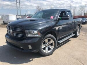2013 Ram 1500 Sport 4WD LEATHER NAV MOON ROOF