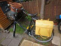 Stunning Pashley Princess Sovereign Black bike - Ladies - with original sales receipt