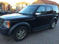 Land Rover discovery 3 GS 2.7 tdv6 GS 7 seater 2008 registered SUV 4WD