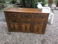 Solid oak top quality sideboard ...free local delivery