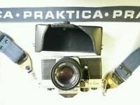 PRAKTICA MTL5B and 50 mm PENTACON lens.