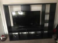 LAPPLAND TV Unit -Black/Brown