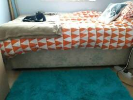 3ft Divan Bed and mattress