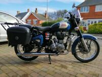 Royal Enfield Classic 500 EFI 2016 - Stage one tuning, touring luggage + other extras