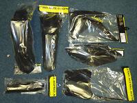 CRF 450 R 2013-15 CRF 250 14- Black Acerbis Plastic Kit Motocross Plastics 6 PC