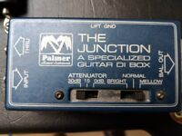 PALMER the junction, PDI-09 SPECIALISED GUITAR DI BOX…UNUSED