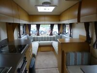2010 Bailey Pegasus 514 - modern 4 Berth, with end Bathroom and side dinette