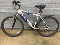 "Bike MNT Ridge Montana, Aluminum Frame, Comfy GEL Seet, 21"" Frame, 26"" Wheels , 21 Speeds"