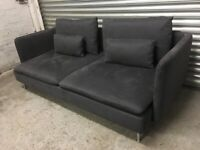 FREE DELIVERY IKEA SODERHAMN CHARCOAL GREY 3 SEATER SOFA GREAT CONDITION