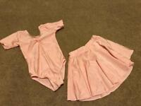 Girls Dancing Outfit - leotard, skirt and leggings