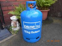 calor gas 15kg butane gas bottle 1/4 - 1/2 full