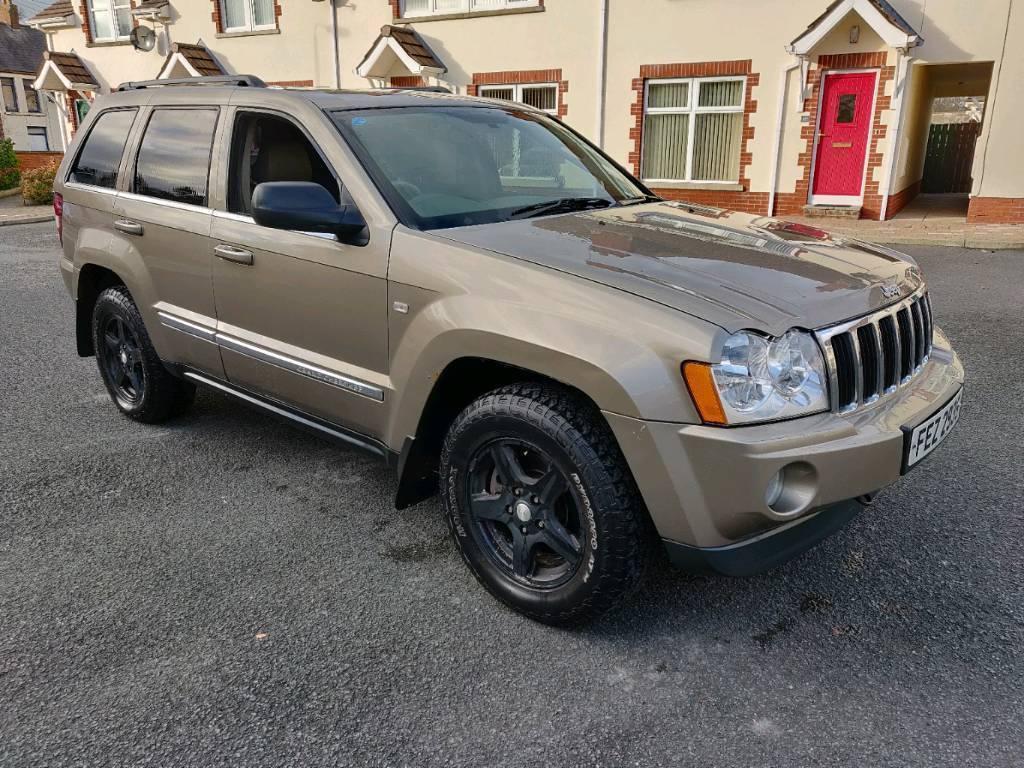 38dfedb8e3 2006 jeep grand Cherokee crd limited 4x4 full mot may px