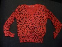 Ladies leopard print cardigan for sale