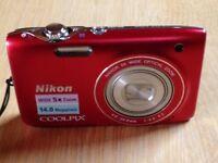 Nickon coolpix S3100 - 5X zoom