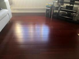 Solid hard wood flooring