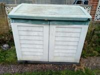 GARDEN STORAGE CONTAINER. Free delivery!!!
