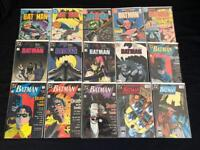 30 Batman Vol 1 Comics Including Year One, Death in the Family