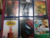 PS2 games job lot