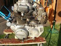 HONDA CB250G5 ENGINE WITH CARBS