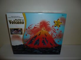 Build a Volcano new in sealed box