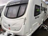 2014 Sterling Elite Amber (Fixed Bed, Full End Washroom)