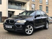 BMW X5 3.0d AUTO PERFECT COMBINATION BLACK WITH CREAM LEATHER SEATS