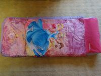Disney Princess Junior ReadyBed Airbed and Sleeping Bag - Excellent conditon