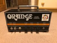Orange dark terror amp head