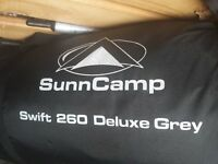 Sunncamp Swift 260 Deluxe Grey Awning