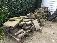 York Stone Crazy Paving - 20 square meters (reclaimed)