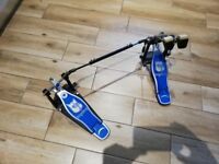 Big Dog double bass drum pedal and gig bag