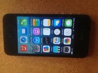 boxed iphone 4, 32gb, black, unlocked, working, accessories,