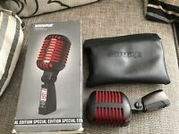 Shure super 55 special edition microphone
