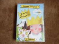 Brand New Sealed Little Princess Complete Series 1 DVD with free 60 piece puzzle and Books