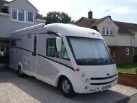 A Class Carthago i148 C- Tourer luxury 4 berth motorhome, 1 previous owner 7500 miles fully serviced