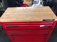 Snap on wood top