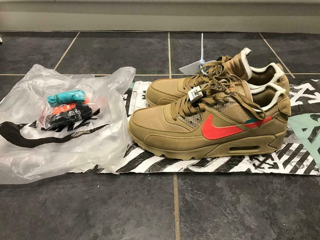 Nike Air Max 90 X Off White Desert Ore | in Twickenham, London | Gumtree