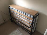 Small double folding bed